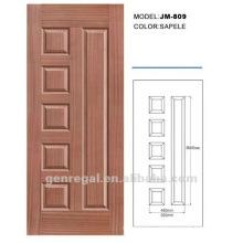 Interior veneer cover compressed Wooden Door