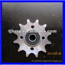 Sprocket/Plate wheel with bearing
