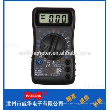 Портативный цифровой мультиметр с зуммером DT820D популярные
