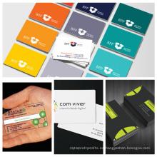 Diseño hermoso tarjetas de visita del metal negro con el barocde Tarjetas de presentación
