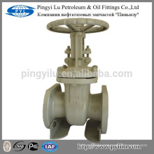 Russia standard carbon steel flanged oil,water pipe industry gate valve