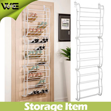 12 Tier Shelf Amazing Plastic Over Door Shoe Organizer Rack