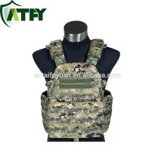 Chaleco táctico militar de Camo Bulletproof Chaqueta digital chaleco militar