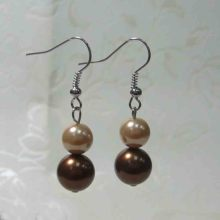 Attractive Factory Custom Pearl Dangle Earrings