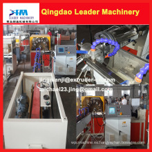 Siemens PLC controla la máquina de producción de manguera reforzada con fibra de PVC