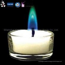 Varias velas baratas personalizadas modelo ecológico de la materia prima