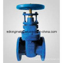 Cast Iron Non-Rising Stem Flanges End Gate Valve