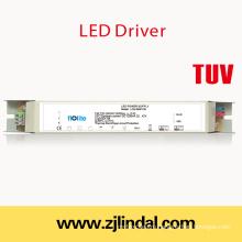 50W светодиодный драйвер постоянный ток (металлический корпус)