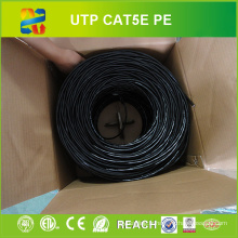 24 AWG Solid Conducteur UTP Cat5e LAN Cable