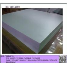 Folha opaca branca gravada do PVC para a impressão deslocada