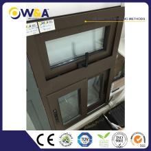Dernières Design Cheap Metel Double Glazing French Aluminium Glisser fenêtre