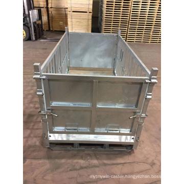 Heavy Duty Metal Turnover Box Crates