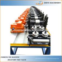 Machine à formater des rouleaux en croix