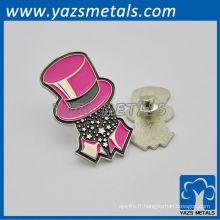 personnaliser les plaques VIP KTV / badges pin avec design personnel, logo design
