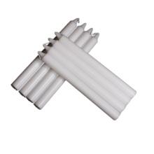 produto novo iluminação doméstica atarraxamento vela pilar branco