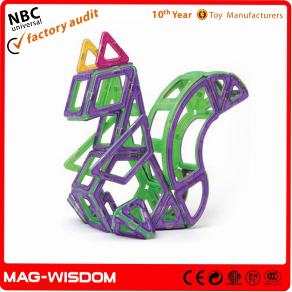 Magnetic Building Kids Educational Material