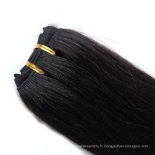 wholessale prix bonne qualité remy vierge européenne trame cheveux