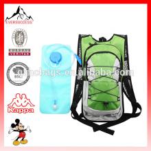 Paquete de hidratación con cámara de agua de mochila 2L para caminar y correr en bicicleta
