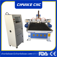 3D Emboosment Wood Machines CNC pour MDF Furniture Wood Craft