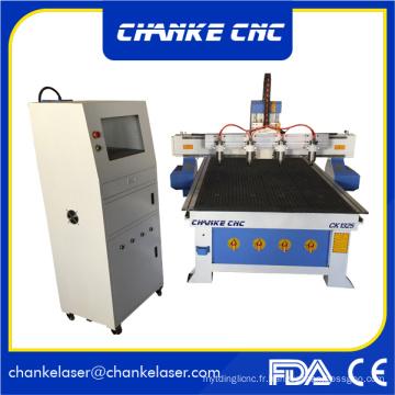 3D Emboosment Wood Machines CNC pour MDF Furniture Wood Craft