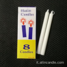 Candele dell'Etnaopia candele bianche private label