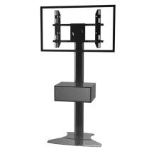 """Public TV Floor Stand Floorbase 30-60"""" Landscape & Portrait Mediabox (AVB 106D)"""
