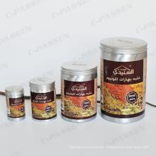 Frasco de alumínio 1L para embalagem de especiarias de cozinha