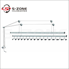 Good quality balcony ceiling mounted lifting clothes drying rack
