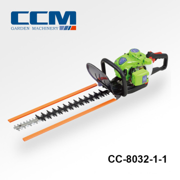 Two-edged recirocating CC-8032-2 22.5cc hedge trimmer