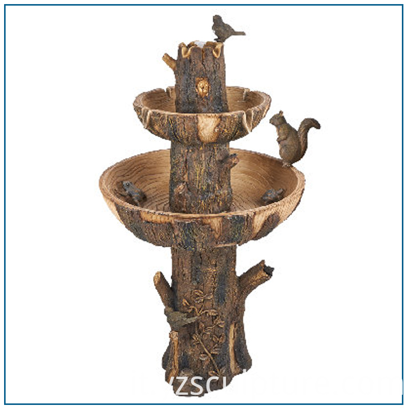 Bronze Water Fountain