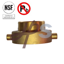 NSF certified Brass fire hose fitting