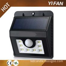 Solar Panel Outdoor Led Solar Motion Sensor Lights,Pir Wall Lamp