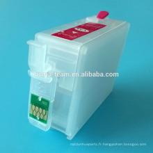 NOUVEAU PRODUIT P600 Cartouche rechargeable pour imprimante Epson SureColor SC-P600 Cartouche d'encre T7601-T7609 pour Epson P600