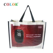 wenzhou manufacturer reusable laminated pp woven shopping bag tote bag