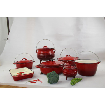 Set Enamel Cookware 12PCS