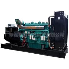 Generador diesel de 800kw fijado con el motor de Yuchai.