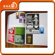 Softcover Cheap Private Custom Brochure Design and Print