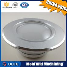 OEM service peças de precisão CNC usinagem parte alta qualidade lâmpada de alumínio shell