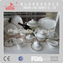 2014new design fine bone china dinner set wholesale