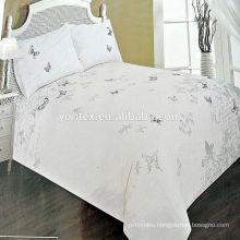 embroidery design bedspread