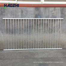 fabrication de qualité en aluminium forgé galvanisé postes de clôture