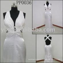 2010 fabricación vestido de noche sexy PP0036