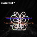 3in Colorful Butterfly Pageant Crowns
