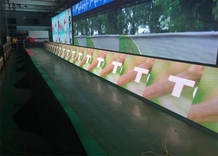 Perimeter LED Display