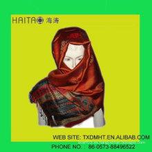 La mejor bufanda de las mujeres de la manera en estilo del jacquard del invierno