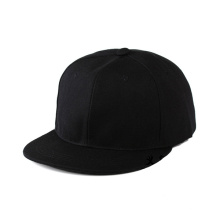 Plain Black and White Mesh Snapback Hats