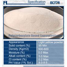 Superplastificante à base de policarboxilato
