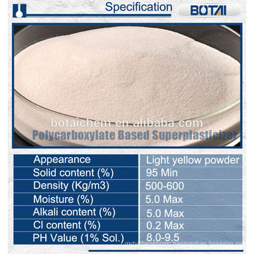 Polycarboxylate PCE SUPERPLASTICIZER