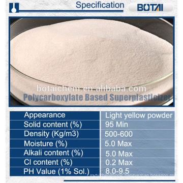 Polycarboxylate PCE SUPERPLASTICIZER