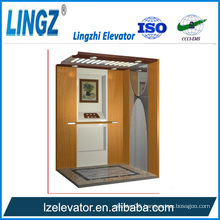 Home Elevator with Wooden Etching